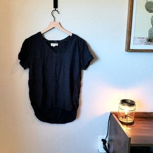 Navy Cloth and Stone Top Anthropologie